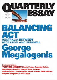 balancing act quarterly essay quarterly essay 61 balancing act