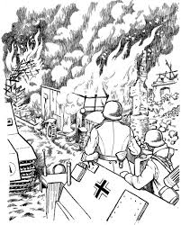 World war 2 coloring pages. Story Of World War Ii Coloring Book Dover History Coloring Book Peter F Copeland 9780486436951 Amazon Com Books