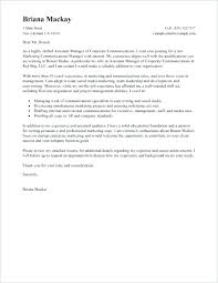 Property Manager Cover Letter Property Manager Cover Letter Examples
