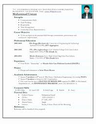 Resume Samples For Freshers Beautiful Resume Format For Mba Freshers