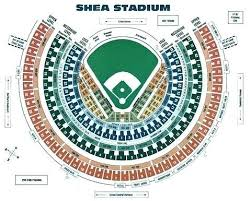 Dodgers Seating Chart With Seat Numbers Citi Field Seating Map Tiendademoda Com Co