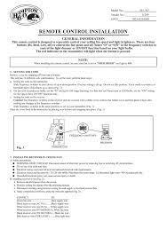 hampton bay 9050h installation guide