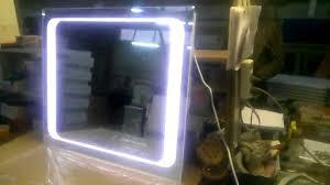 <b>Зеркало</b> с внутренней светодиодной подсветкой, незапотевающе