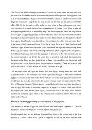 Ancient egypt essay conclusion
