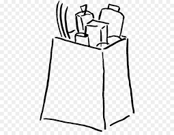 store clipart black and white. Exellent Clipart Shopping Bags U0026 Trolleys Grocery Store Clip Art  Grocery Bag Clipart Black  And White Intended Store Clipart Black And White R