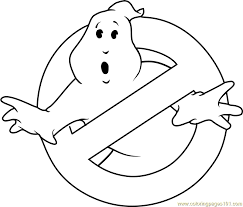 Small Picture Ghostbusters Logo Coloring Page Free Ghostbusters Coloring Pages