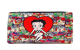 <b>Betty Boop</b> Red Heart <b>Collection</b>, Cartoon Collage Background