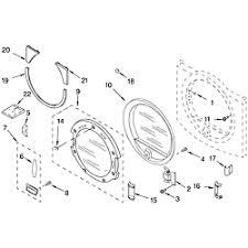 whirlpool residential dryer parts model gew9200lw1 sears door parts