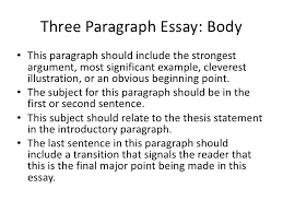 body paragraph examples world of example 1 writing a 3 paragraph essay the writing center intended for 3 body paragraph
