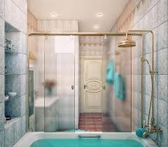 partition bathroom. Bathroom Bathtub With Glass Partition E