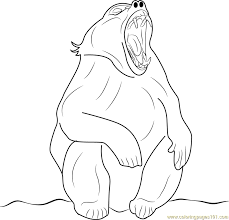 Small Picture Angry Baboon Coloring Page Free Baboon Coloring Pages