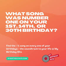 Choose a type of song: My Birthday Hits Home Facebook