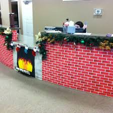 christmas office decorating ideas. Holiday Desk Decoration Christmas Office Decorating Ideas U