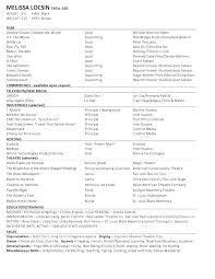 Browse Us Acting Resume Template Cv 101 Beginner Example Invoice