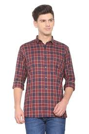 Allen Solly Shirts Allen Solly Maroon Shirt For Men At Allensolly Com