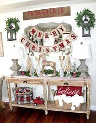 25 unique christmas entryway ideas