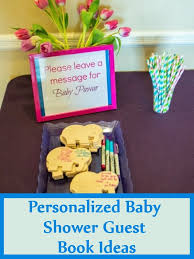 Best 25 Baby Shower Guestbook Ideas On Pinterest  Planning A Baby Shower Message Book