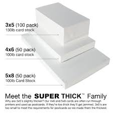 how to print on 3x5 index cards 3 5 super thick index cards 100 3 x5 blank 100 pack chris