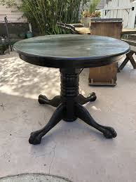 vintage claw ball foot solid oak dining table for in claremont ca offerup