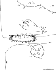 Small Picture Bird nest coloring pages Hellokidscom