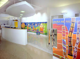 color art office interiors. Outstanding Interior Bright And Colorful Doctors Office Designs Hospital Waiting Room With Color Art Interiors F