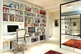 home office bookshelves. Desk And Bookcase Home Office Bookshelf Bookshelves Built In Designs Contemporary With Shelves