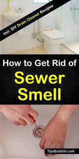 sewer smell in your house