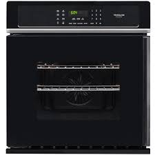 frigidaire gallery self cleaning convection single electric wall oven black common