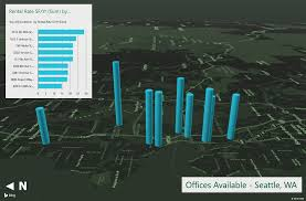 Add Map Chart To Excel 2016 Using Excel 3d Maps