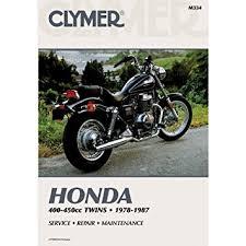 amazon com clymer repair manual for honda 400 450 twin 78 87 clymer repair manual for honda 400 450 twin 78 87