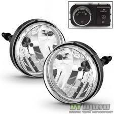 2007-2013 GMC Sierra Bumper Fog Lights Driving Lamps w/ OE Style ...