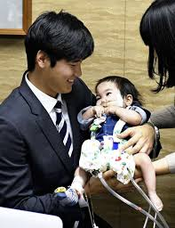 an s ohtani offers helping hand to namesake baby with heart disease