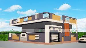 Simplex House Elevation Designs 40x32 Home Plan 1280 Sqft Home Design 1 Story Floor Plan