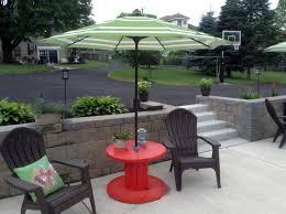 stylish outdoor garden umbrella that