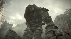 shadow of colossus ps4 e3 2017