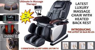latest luxury massage chair for the ultimate massage therapy