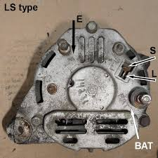 tech wiki ir alternator conversion wiring datsun 1200 club the internally regulated alternator should have ls terminals but same t connector as fn types