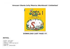 Amazon Charts Jolly Phonics Workbook 1 Unlimited