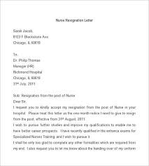 Nurse Resignation Letter Gorgeous 48 Resignation Letter Template Word PDF IPages Free Premium