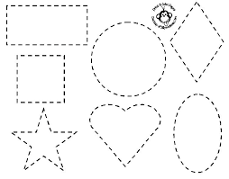 Simple Coloring Pages For Preschool Colouring Sheets For Children