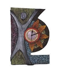 artistic pop wall clock artyowl