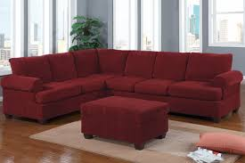 wine colored sectional sofas