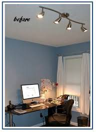 best light for office. porcelain led fixture brings warm, bright light to home office best for l