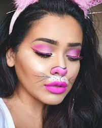 bunny makeup cute pink look bugs tutorial bunny makeup bag lola tutorial
