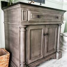 Diy bathroom furniture Toilet After Rich And Rustic The Family Handyman 12 Astonishing Diy Bathroom Vanity Makeovers The Family Handyman