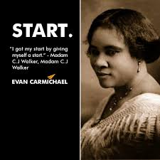Madam Cj Walker Quotes Fascinating Madam C J Walker Know Who She Is It Is What It Is