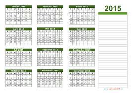Kalender 2015 Excel Kalender 2015 Jaarkalender En Maandkalender 2015 Met