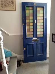 vintage victorian stained glass front door