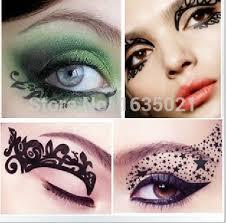 b44 eye rock eye shadow stickers eye makeup rhinestone decoration 6 pair