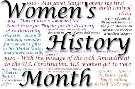 Women's History Month – Research and Poetry – Teaching English Language Arts